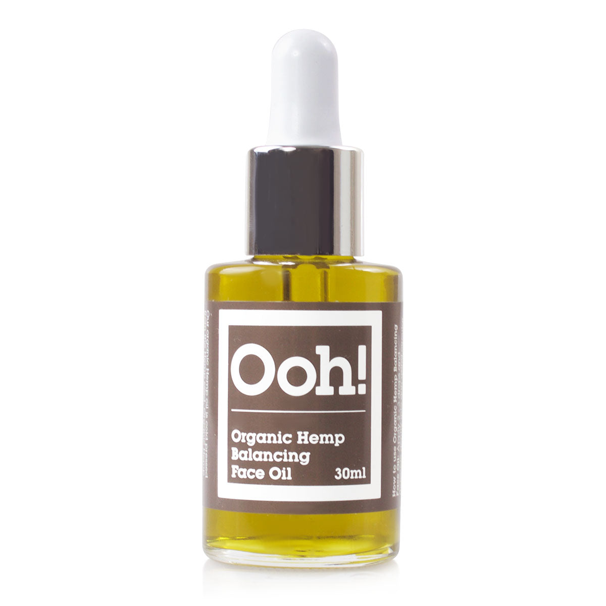 Organic Hemp Face Oil 30ml