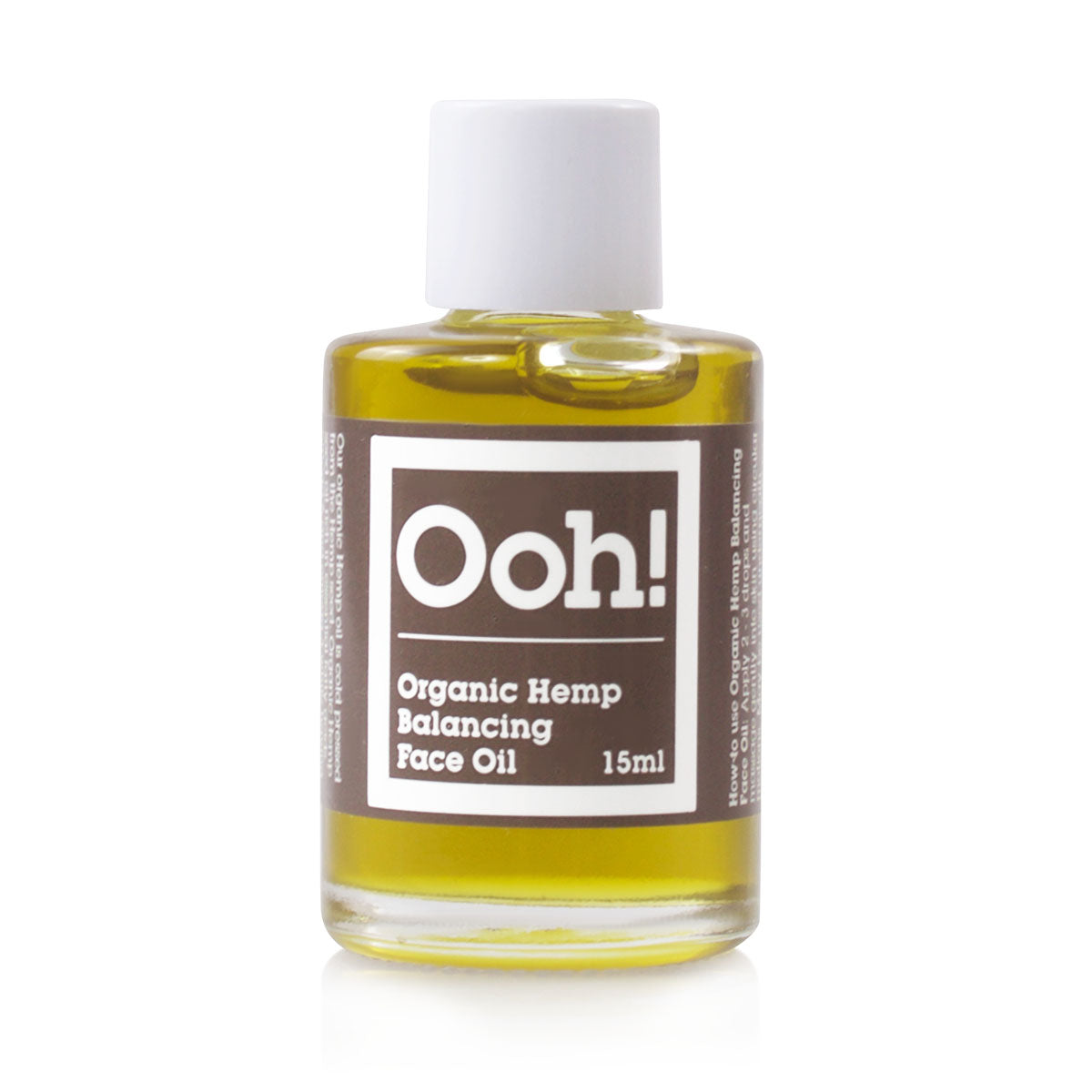 Organic Hemp Face Oil Travel Size 15ml