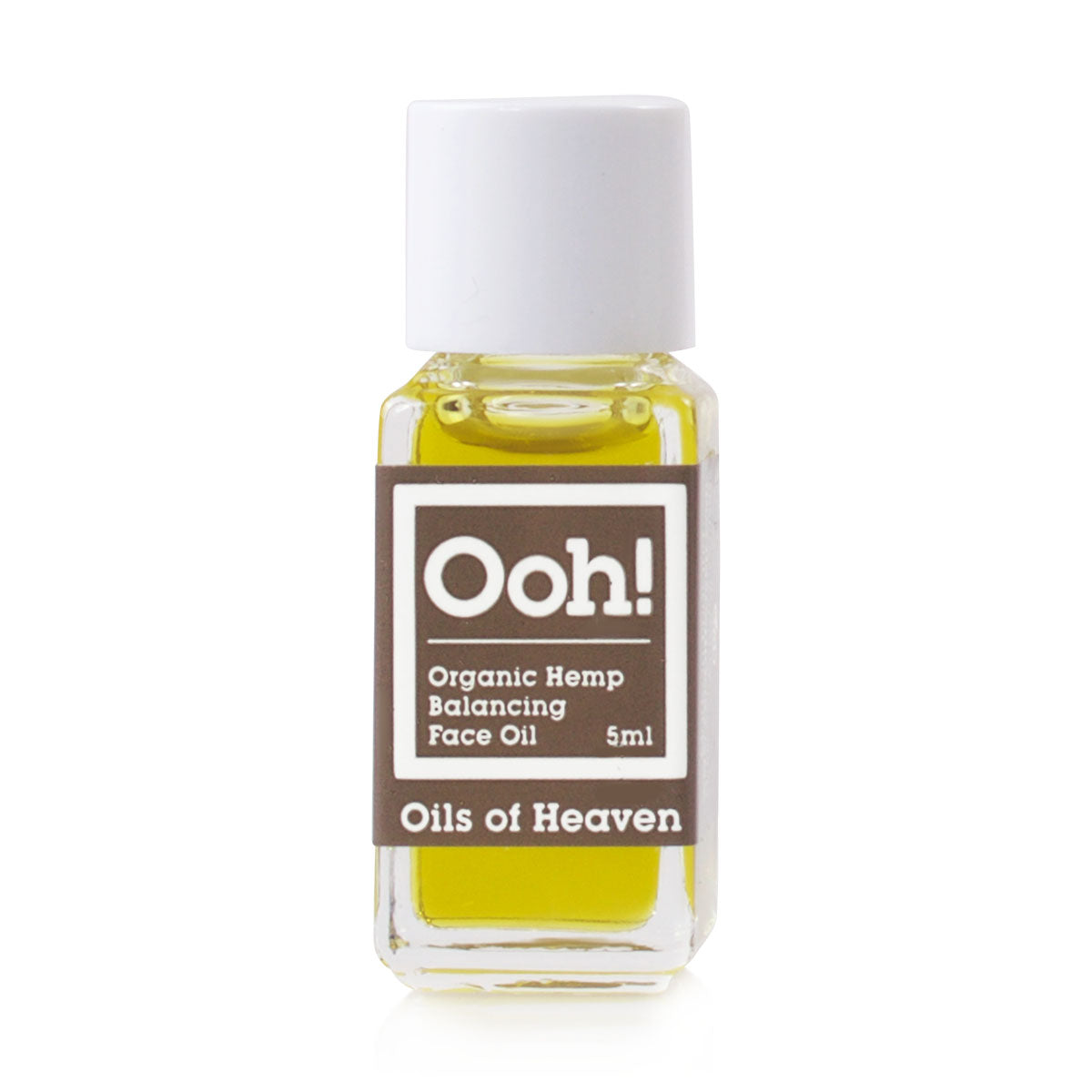 Organic Hemp Face Oil Sample 5ml