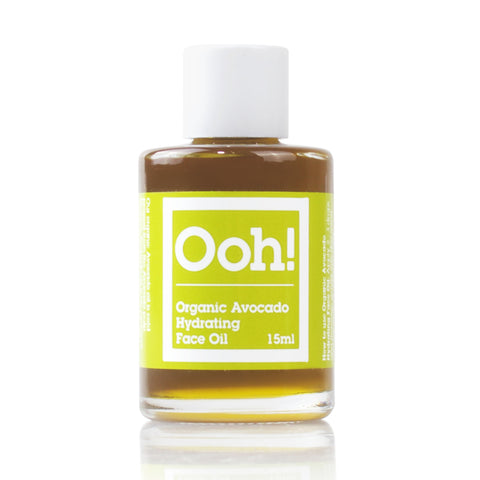Organic Avocado Hydrating Face Oil 15ml