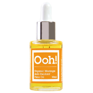 Organic Moringa Anti-Oxidant Face Oil 30ml