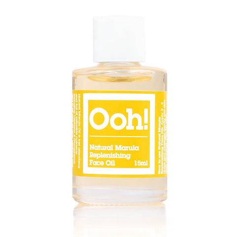 Natural Marula Replenishing Face Oil Travel Size 15ml