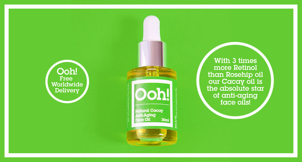 Ooh! Oils of Heaven Natural Cacay Anti-Aging Face Oil 30ml