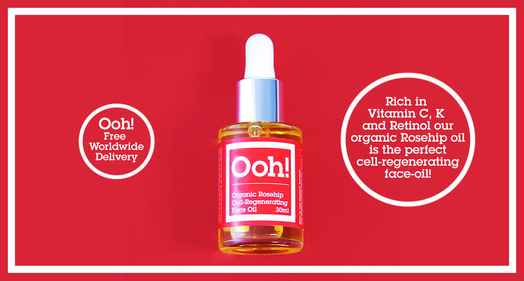 Ooh! Oils of Heaven Organic Rosehip Cell Regenerating Face Oil 30ml