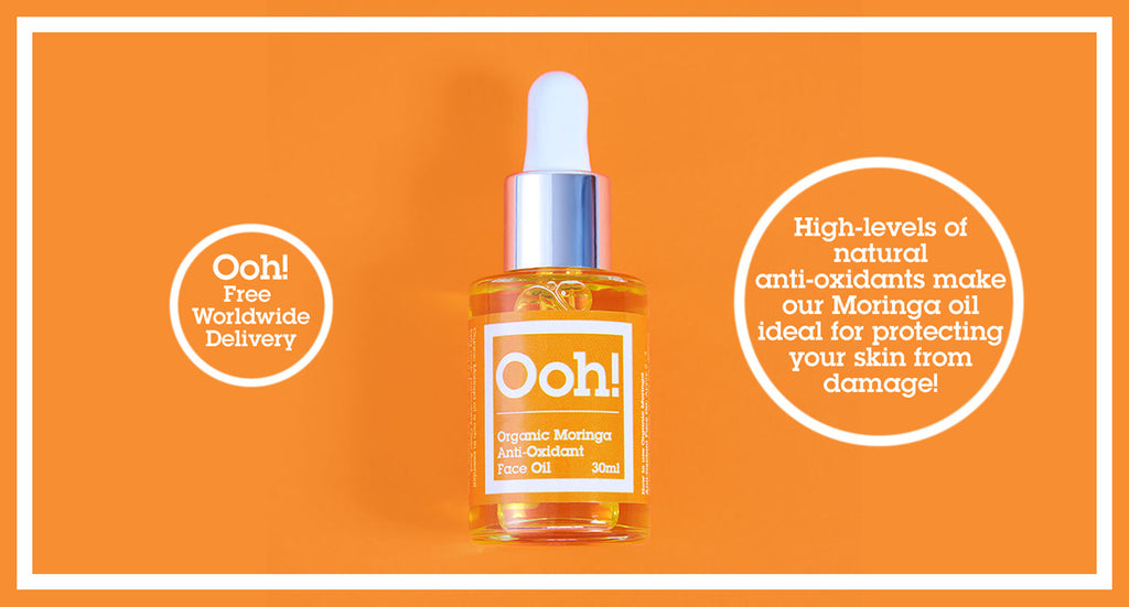 Ooh! Oils of Heaven Organic Moringa Anti-Oxidant Face Oil 30ml