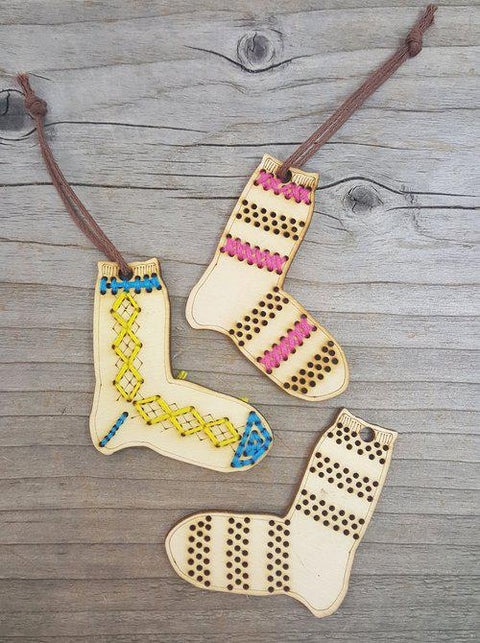 Katrinkles | Sock Ornaments