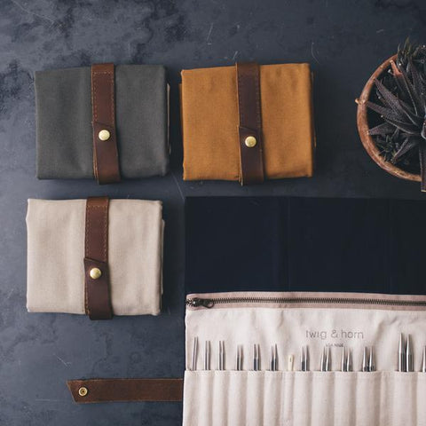 Twig & Horn | Standard Canvas Interchangeable Case