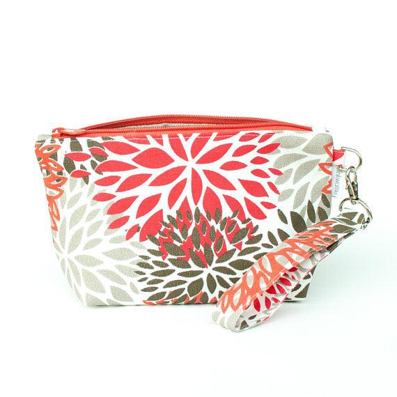 Binkwaffle | BLOOM Zipper Wristlet