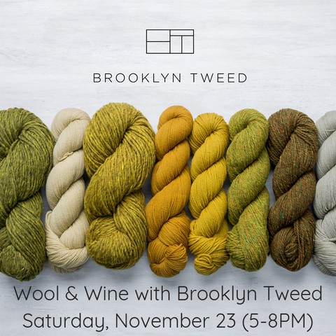 Wool & Wine | An evening with Brooklyn Tweed