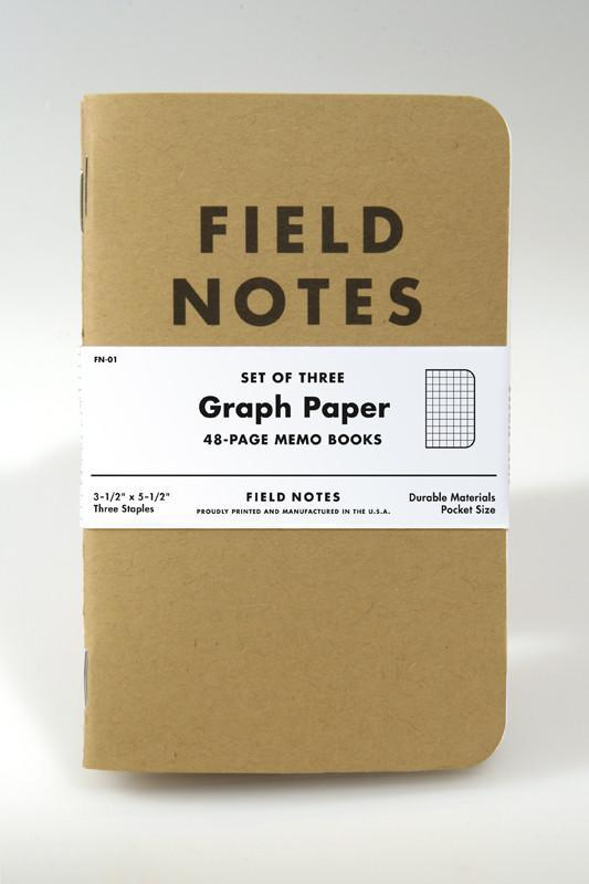 Field Notes | Kraft 3-Pack