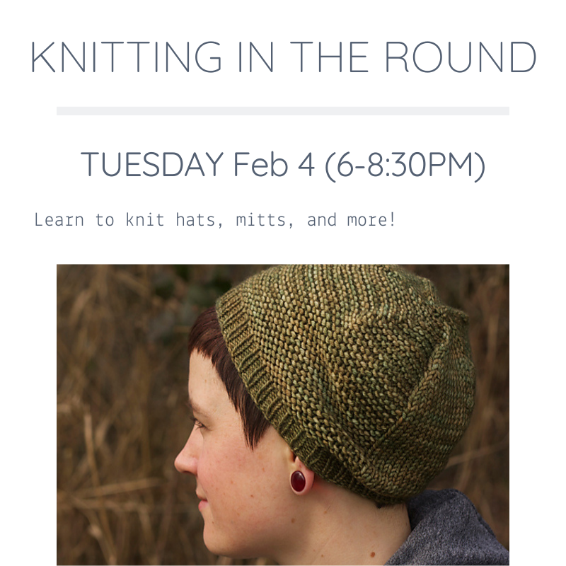 Knitting in the Round | Feb 4