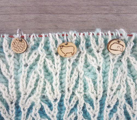 Katrinkles | Ring Stitch Markers