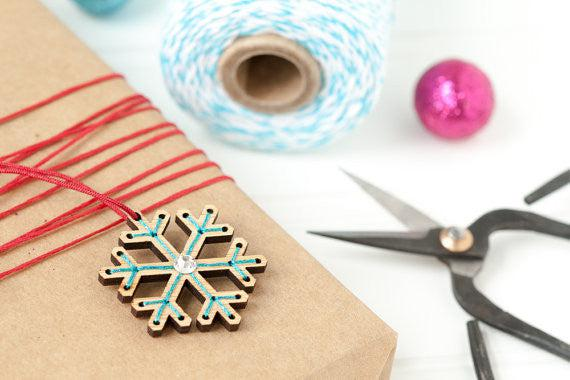 Red Gate | Mini Snowflake Ornament