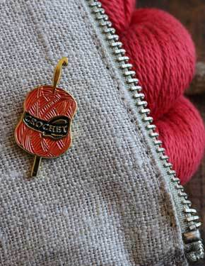 Firefly Notes | Enamel Pins Crochet