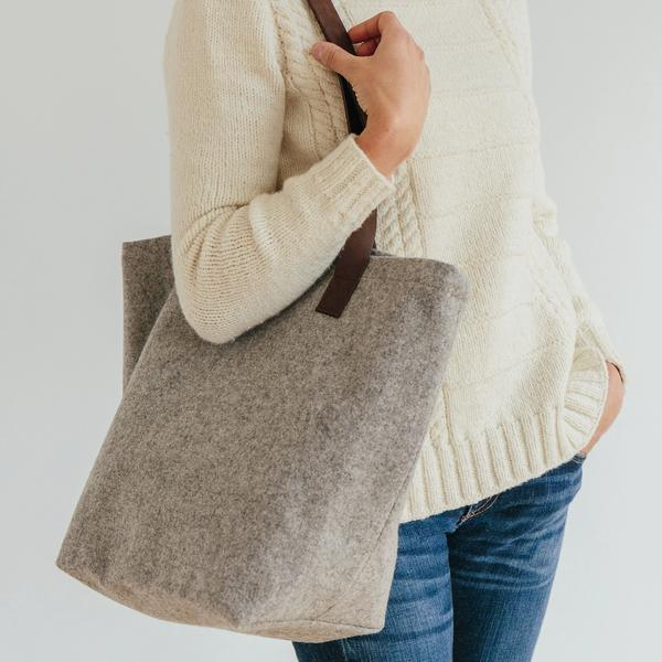 Twig & Horn | Wool Project Tote