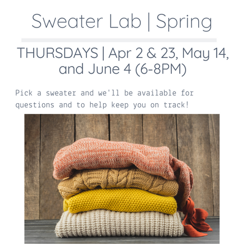 Sweater Lab | Spring
