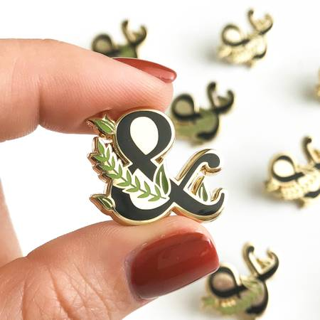 Paper Anchor Co | Leafy Ampersand