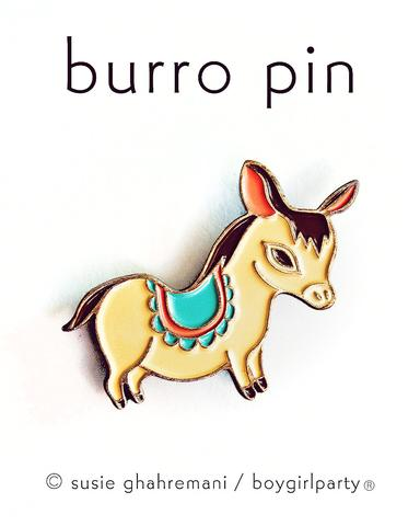 boygirlparty Pins | Burro