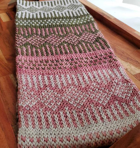 Church Street Cowl Kit in Leizu DK