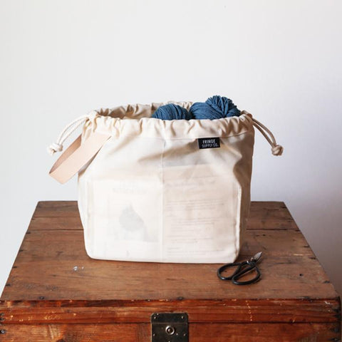 Fringe Supply | Field Bag Waxed Canvas