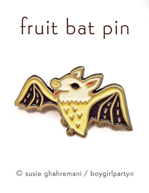 boygirlparty Pins | Fruit Bat