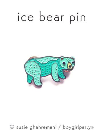 boygirlparty Pins | Ice Bear