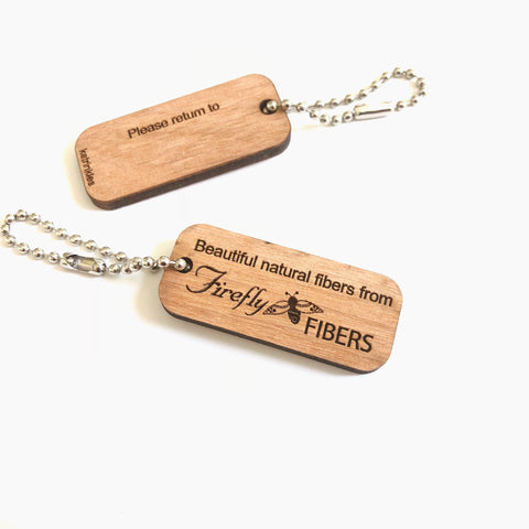Katrinkles | Firefly Knitting Bag ID Tag