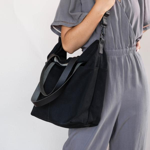 Twig & Horn | NEW Canvas Crossbody Project Tote