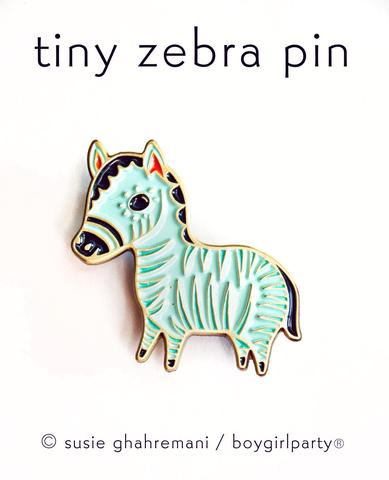 boygirlparty Pins | Zebra