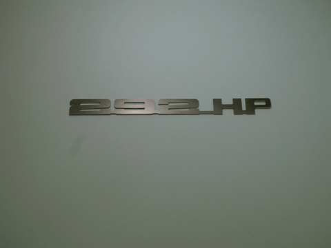Horsepower Emblem - 292 HP; - MorrisClassic.com, emblems