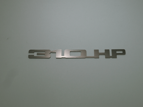 Horsepower Emblem - 310 HP; - MorrisClassic.com, emblems