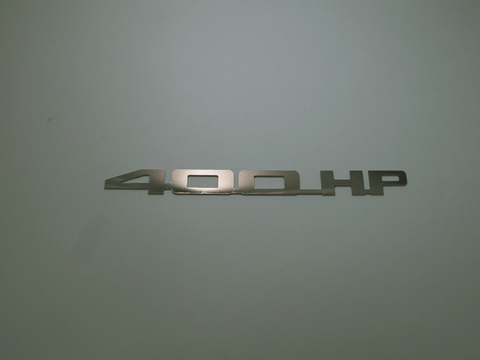 Horsepower Emblem - 400 HP; - MorrisClassic.com, emblems