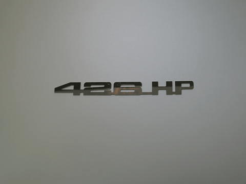 Horsepower Emblem - 426 HP; - MorrisClassic.com, emblems