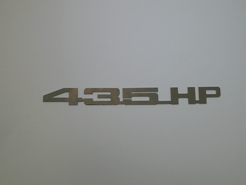 Horsepower Emblem - 435 HP; - MorrisClassic.com, emblems