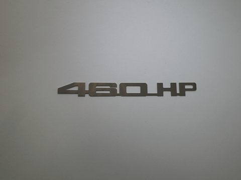 Horsepower Emblem - 460 HP; - MorrisClassic.com, emblems