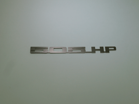 Horsepower Emblem - 505 HP; - MorrisClassic.com, emblems