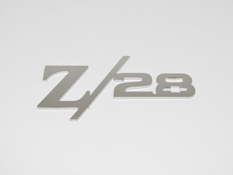 Z/28 Rear Panel Emblem With Bowtie; - MorrisClassic.com, emblem