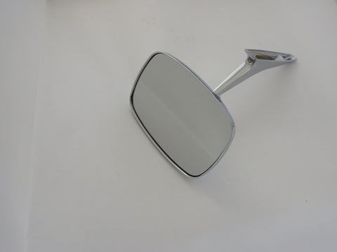 Rectangular Clear Shot Mirror - Single; - MorrisClassic.com, classic car mirrors