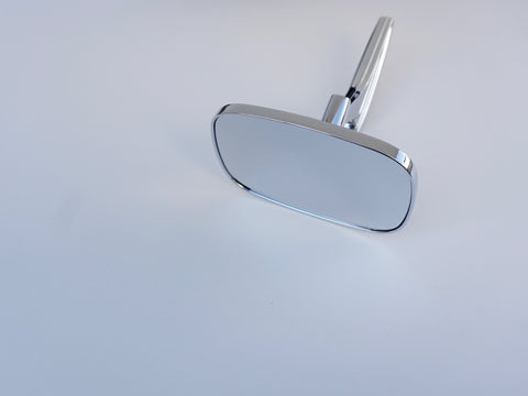 Clear Shot V2 Rectangular Mirror - Single; - MorrisClassic.com, classic car mirrors