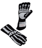 Skeleton Nomex Racing Gloves - Single Layer; - MorrisClassic.com,