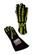 Skeleton Nomex Racing Gloves - Double Layer; - MorrisClassic.com,
