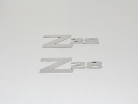 Z28 Fender Emblems for 1970-74 Camaros; - MorrisClassic.com, emblem