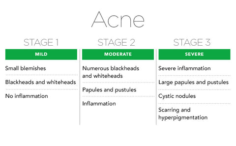 what type of acne do you have? types of acne explained – bioclarity, Human Body