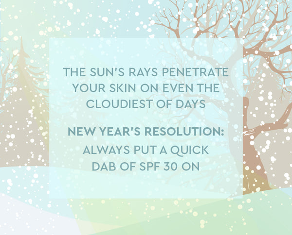 skincare new years resolutions
