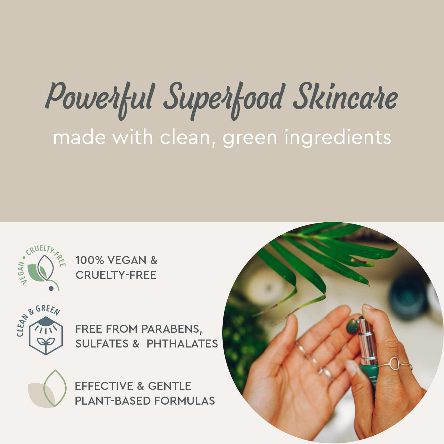 Powerful Superfood Skincare