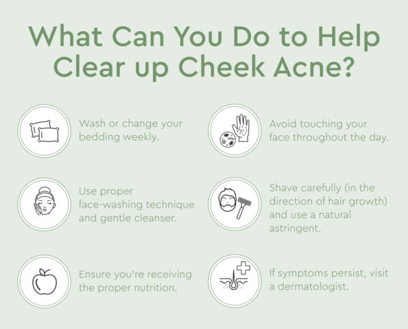How To Get Rid Of Cheek Acne 10 Causes And Treatments Bioclarity