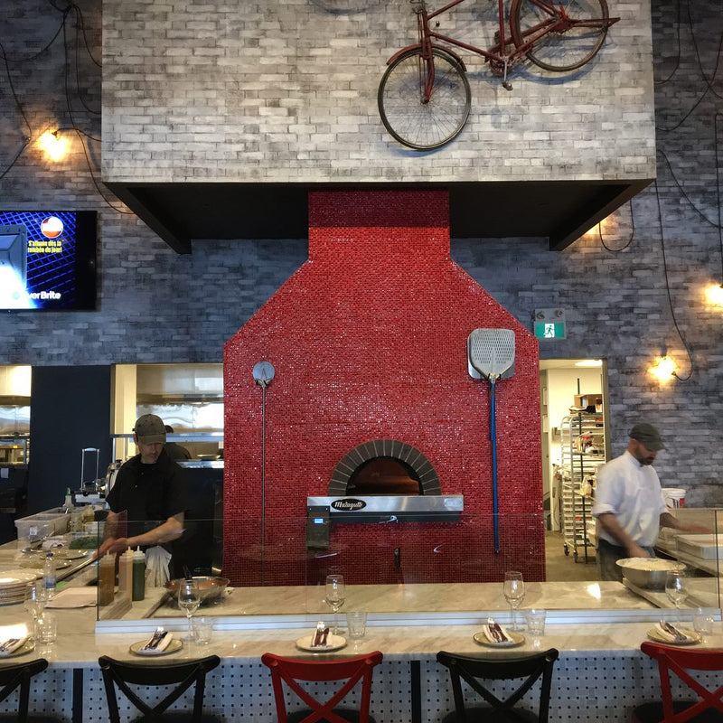 Milano Oven installation at Industria Pizzeria in Ottawa & Montreal