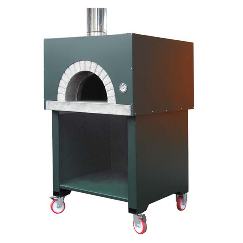 A Cubo Residential Oven, finished in black.