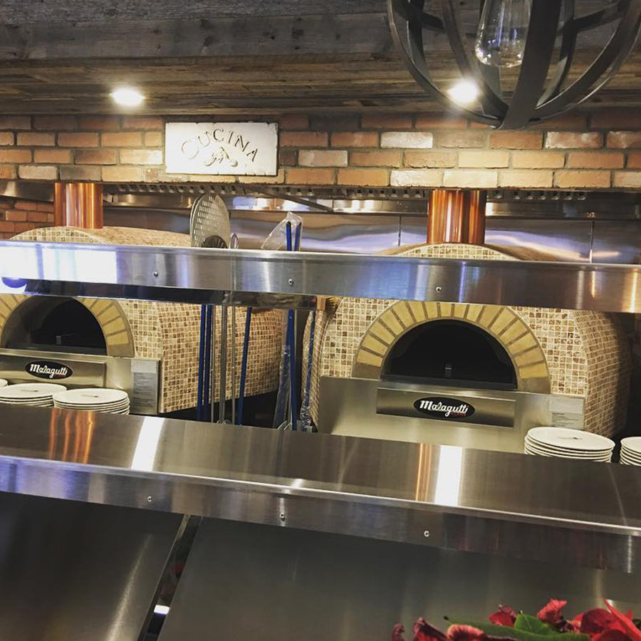 Roma Fired Oven installation at Goodfellas Pizzeria in Milton