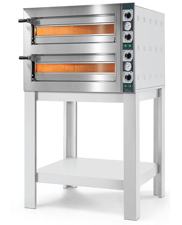 An example of a Compact Pro Double Deck Oven (With a Stand)